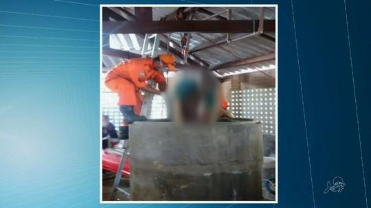 Delegacia de Caucaia investiga mortes em tanque; metano pode ter sido causa