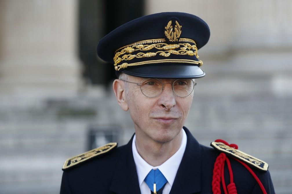Novo chefe de polícia de Paris, Didier Lallement — Foto: Thibault Camus/Pool/AFP