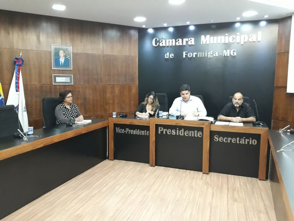 -  Grupos foram eleitos durante audiência pública realizada na Câmara Municipal de Formiga  Foto: Divulgação/Prefeitura Municipal de Formiga