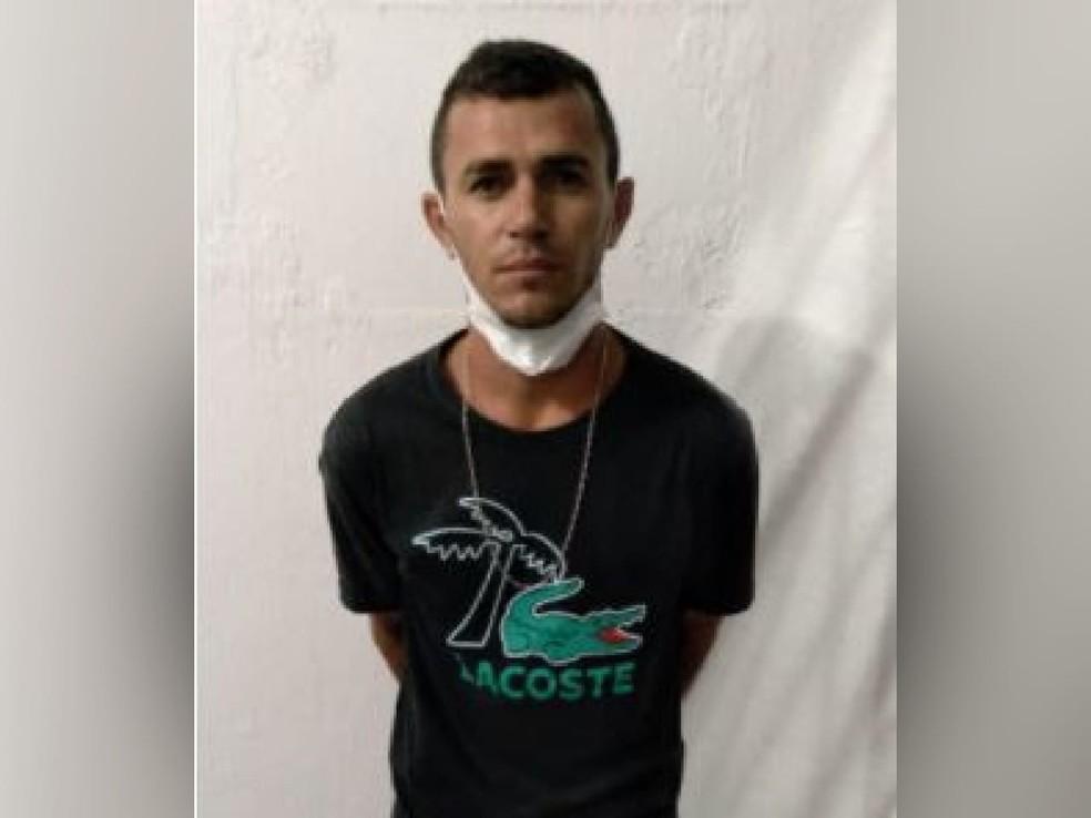 Suspeito de matar escrivão na delegacia de Tauá. — Foto: Arquivo pessoal