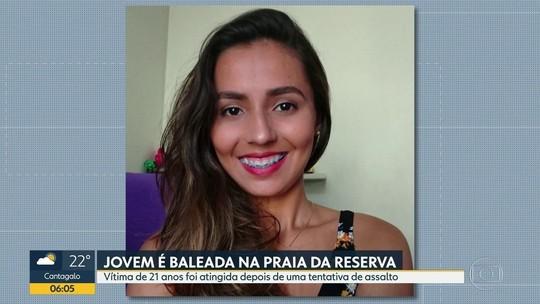 Amigos fazem campanha de doação de sangue para baleada no Rio