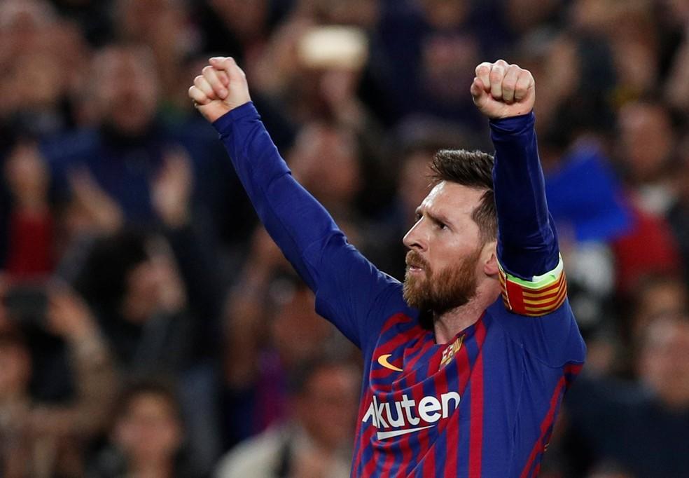 Messi é considerado um dos favoritos mais uma vez — Foto: Reuters