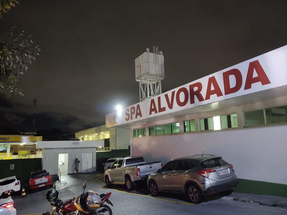 SPA Alvorada, em Manaus — Foto: Eliana Nascimento/G1 AM