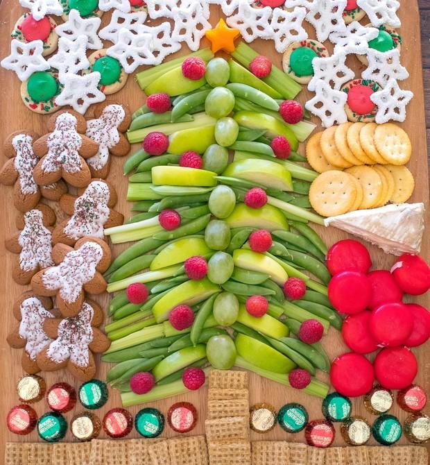 Ideia de tábua de petiscos do perfil Lunchbox Dad (Foto: Reprodução / Instagram)