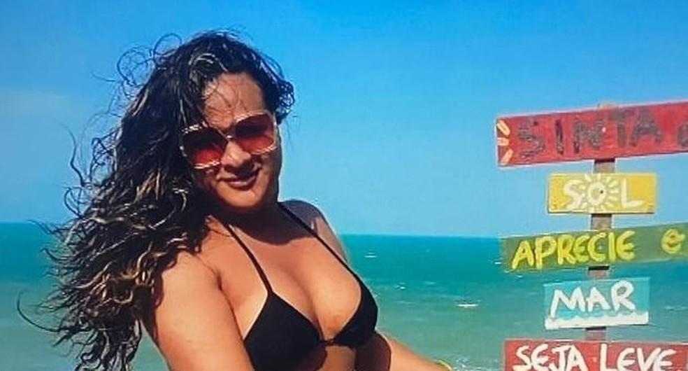 Soraya de Oliveira Santiago, 35 anos, foi morta por testemunhar homicídio — Foto: Reprodução