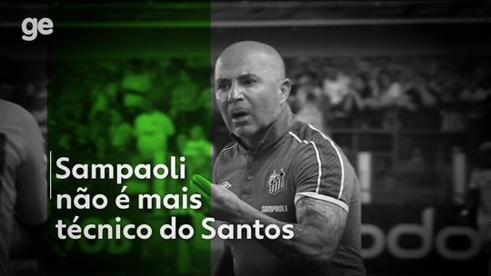 Jorge Sampaoli pede demissão e não é mais técnico do Santos