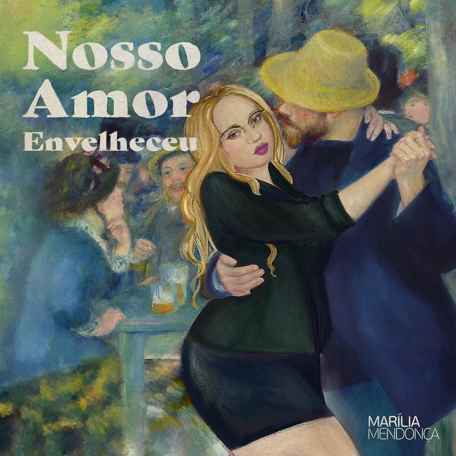 Marília Mendonça reúne as cinco músicas inéditas da live 'Vem aí' no EP 'Nosso amor envelheceu'
