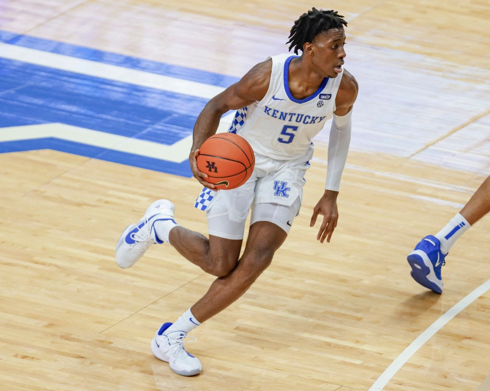 O basquete universitário americano perdeu o talento de Terrence Clarke   — Foto: Getty Image