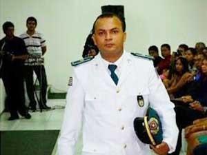 Tenente Ramos, morto a tiros em São Luís (MA) (Foto: Arquivo Pessoal)
