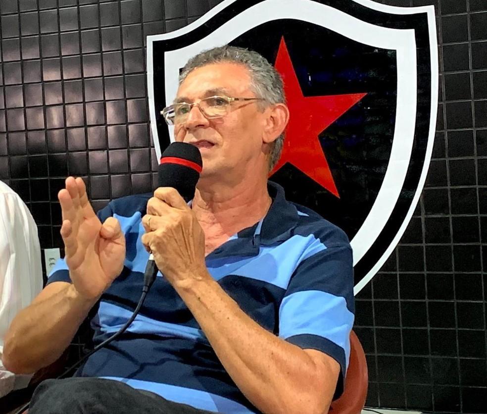 Ação foi ingressada por Orlando Soares, presidente do Botafogo-PB e pretenso candidato à reeleição — Foto: Divulgação