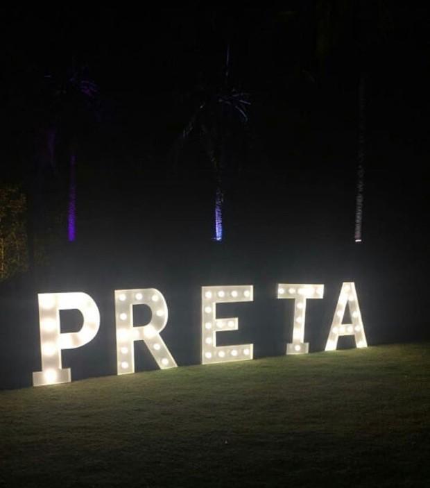 Festa de aniversário de 44 anos de Preta Gil (Foto: Reprodução/Instagram)