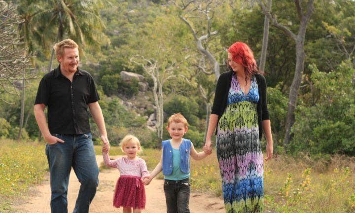 Krystin e a família: estranhos desejos de grávida (Foto: Reprodução)