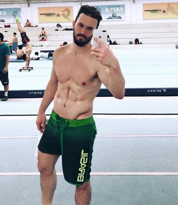 Diego Hypólito (Foto: Reprodução/Instagram)