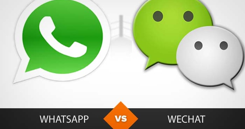 WhatsApp ou WeChat? Descubra qual é o melhor mensageiro
