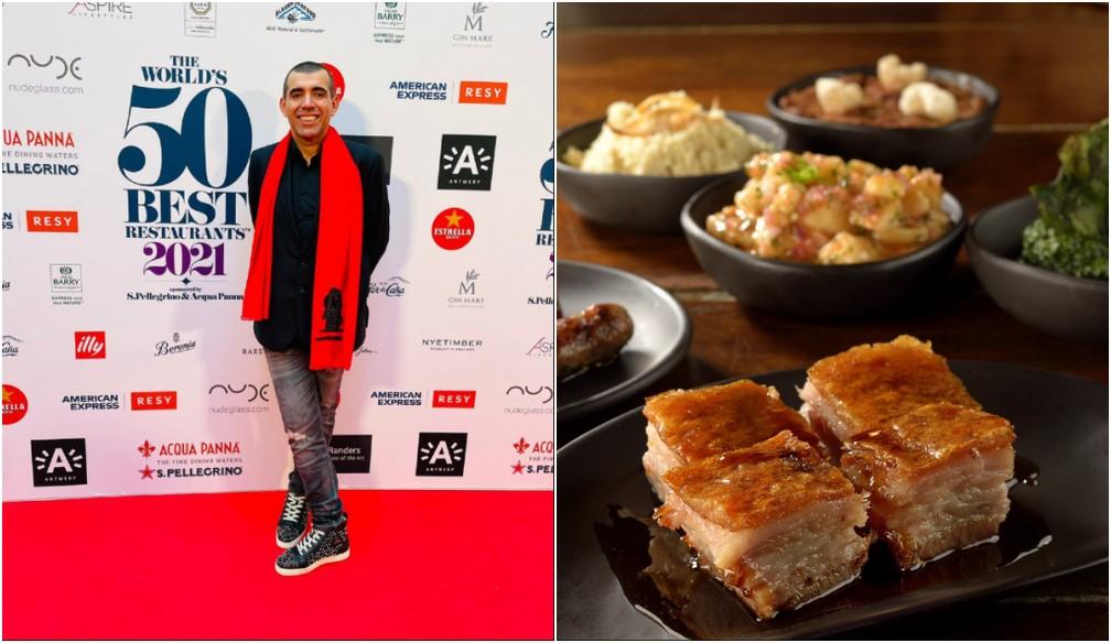 O chef Jefferson Rueda, um dos proprietários do restaurante 'A Casa do Porco', localizado na região central de São Paulo — Foto: Mauro Holanda e Maria Vargas/Divulgação