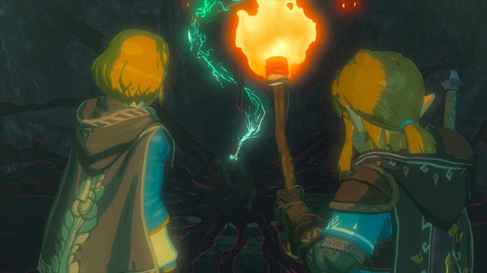 A sequência de The Legend of Zelda: Breath of the Wild é um dos jogos mais esperados da Nintendo para a E3 2021 — Foto: Reprodução/Nintendo