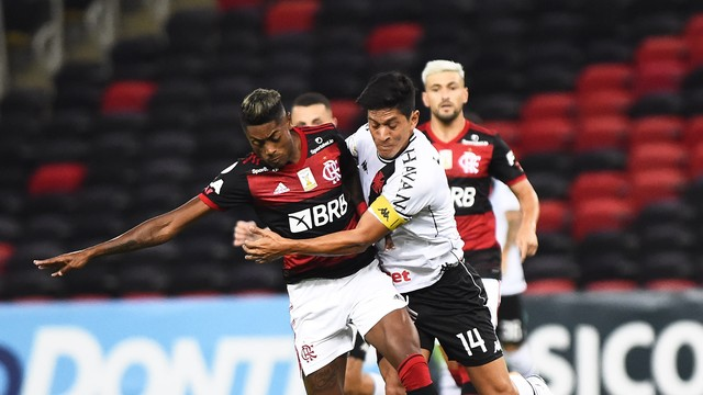 Bruno Henrique e German Cano, Flamengo x Vasco - Campeonato Brasileiro