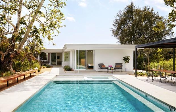 A casa de Mandy Moore (Foto: Trevor Tondro/Architectural Digest)