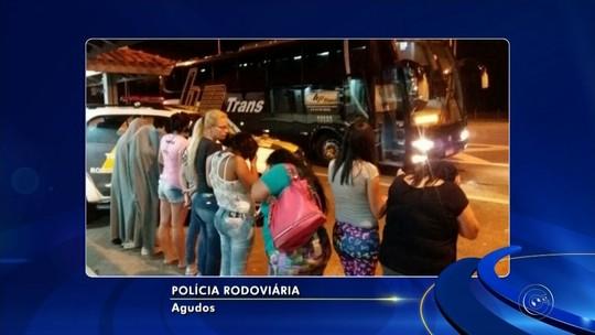 Mulheres são detidas após tentarem levar drogas em ônibus para penitenciárias