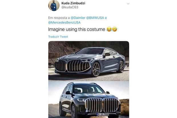 Os usuários gostaram da resposta da Mercedes e tiveram umas ideias inusitadas (Foto: Reprodução/Internet)
