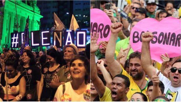 Segundo Andrea Freitas, da Unicamp, a divisão no país é tão acentuada, que pode ser observada em termos de gênero, cor e renda (Foto: BBC News)