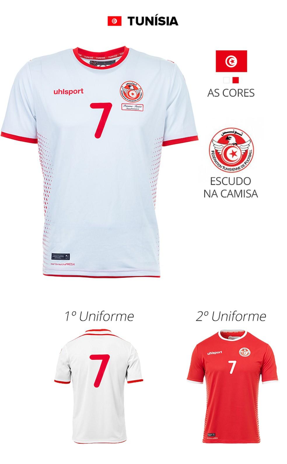 Conheça as camisas das 32 seleções da Copa do Mundo da Rússia  36540982111c7