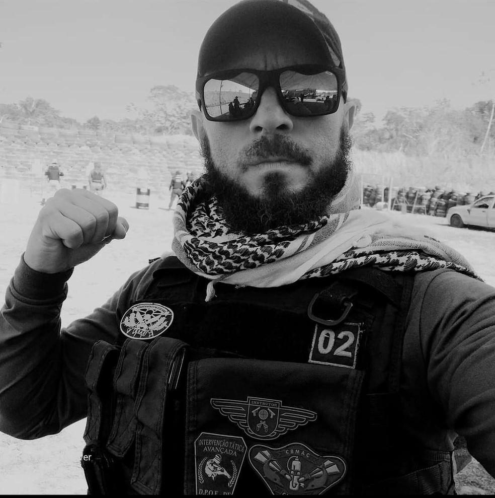Alessandro Lopes foi preso por homicídio doloso pela morte de Gilcimar da Silva Honorato — Foto: Arquivo pessoal