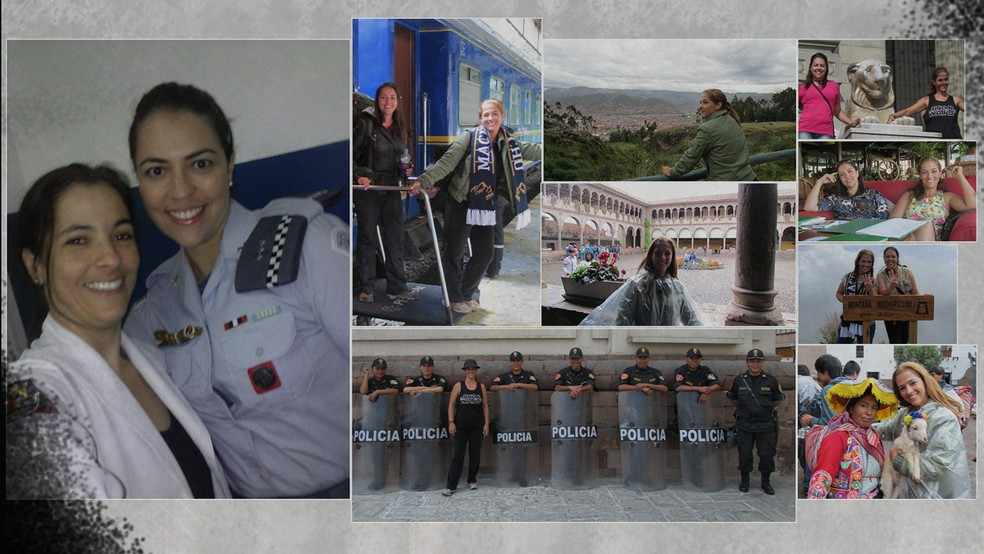 Tais Melloni trabalhava como policial militar quando foi atropelada por um carro roubado em Mauá, na Grande São Paulo — Foto: Arquivo pessoal / Graziela Costa