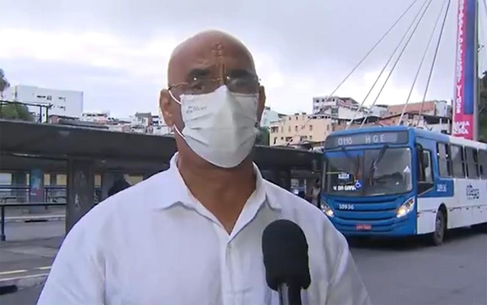 Daniela Mota comemorou a assinatura da minuta do acordo — Foto: Reprodução/TV Bahia