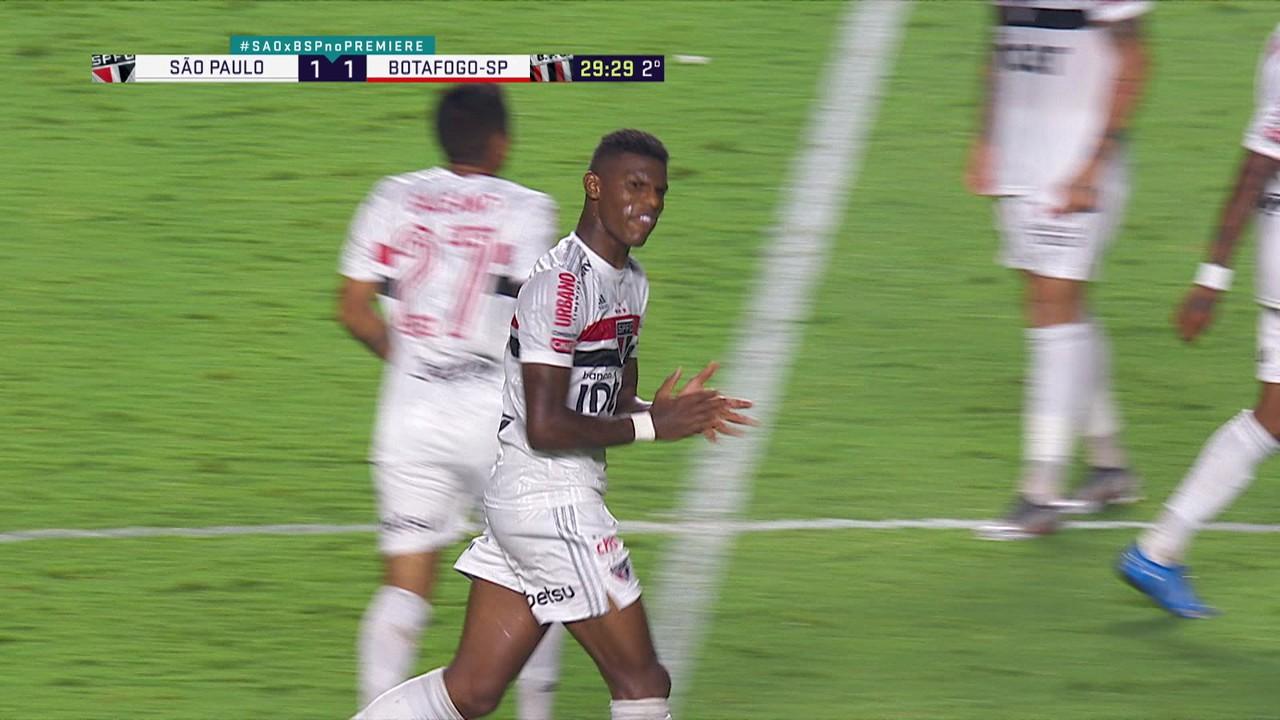 Arboleda, em São Paulo 1 x 1 Botafogo