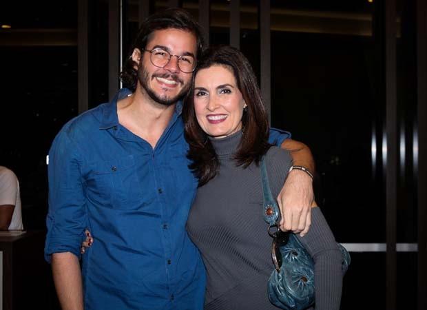 Fátima Bernardes e Túlio Gadêlha (Foto: Ricardo Nunes/Divulgação)