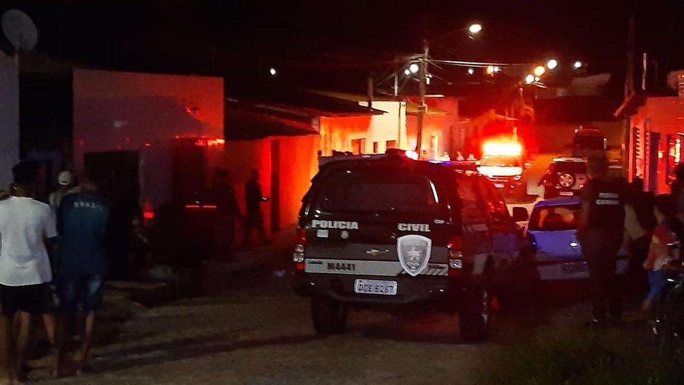 Crime ocorreu em São Gonçalo do Amarante — Foto: Reprodução