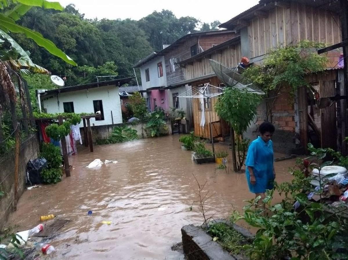 Gaspar decreta situação de emergência após chuvas