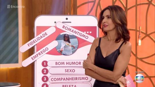Fátima Bernardes lista características mais relevantes no relacionamento