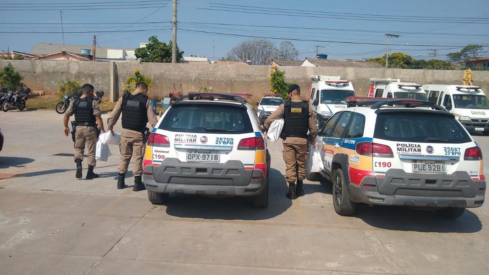 Segundo  MPMG, 44 mandados judiciais de busca e apreensão foram cumpridos — Foto: MPMG/Divulgação