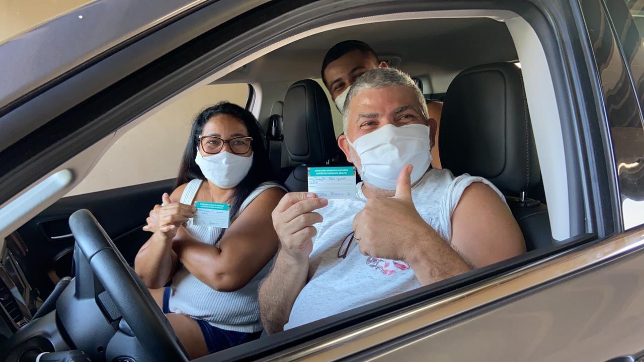 Manaus tem 53% da população com pelo menos uma dose de vacina contra a Covid; Amazonas tem 46%