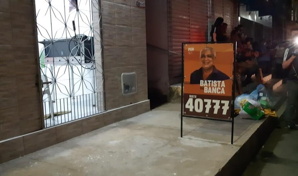 Candidato a vereador é assassinado a golpes de faca em Caucaia, na Grande Fortaleza — Foto: Leabem Monteiro/SVM