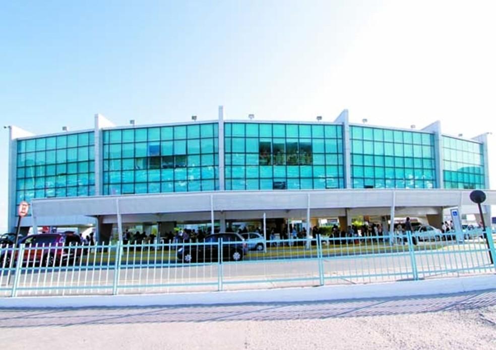 Aeroporto Presidente Castro Pinto, em João Pessoa (Foto: Kleide Teixeira/Jornal da Paraíba)