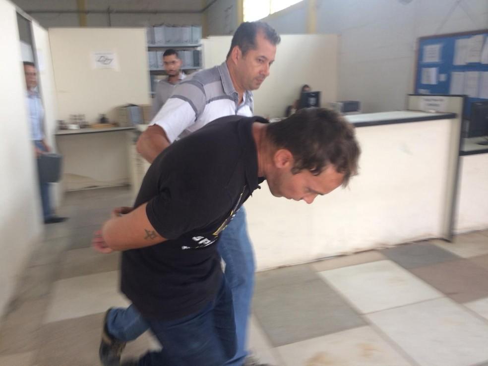 Celso Rodrigues Nunes foi indiciado pela morte de Juliana Jovino (Foto: Carlos Dias/G1)