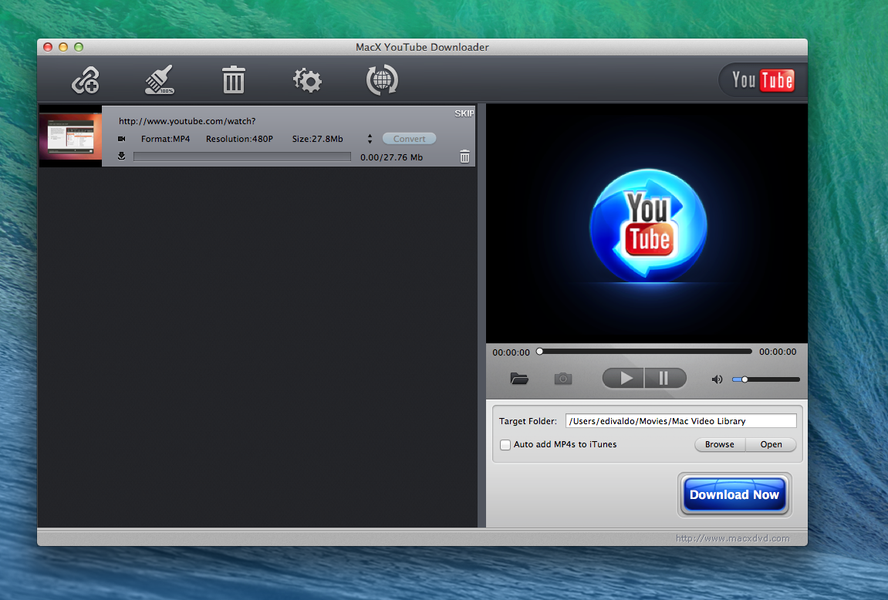 MacX YouTube Downloader | Download | TechTudo