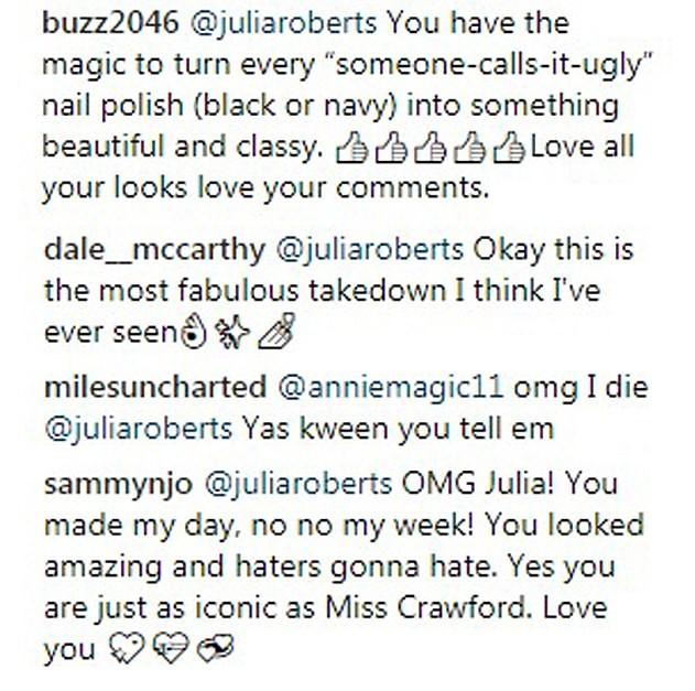 Julia Roberts (Foto: Instagram)