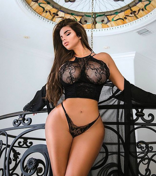 A modelo russa Anastasiya Kvitko (Foto: Instagram)
