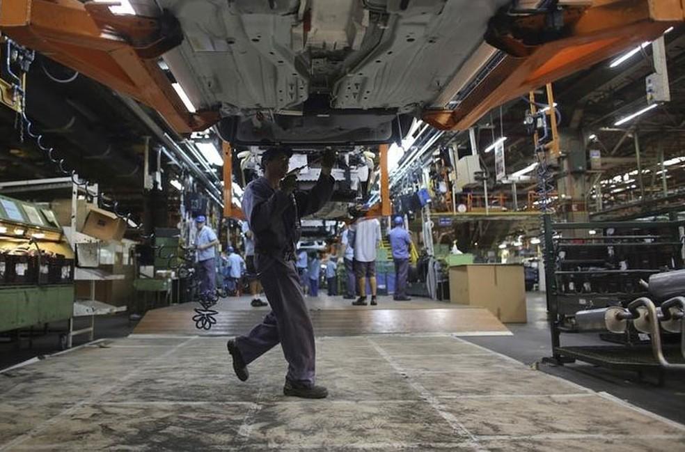 Maiores baixas partiram de meios de transporte e eletroeletrônicos. (Foto: REUTERS/Nacho Doce)