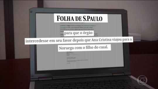 Documento do Itamaraty diz que ex-mulher relatou ter sido ameaçada de morte por Bolsonaro em 2009; ela nega o relato