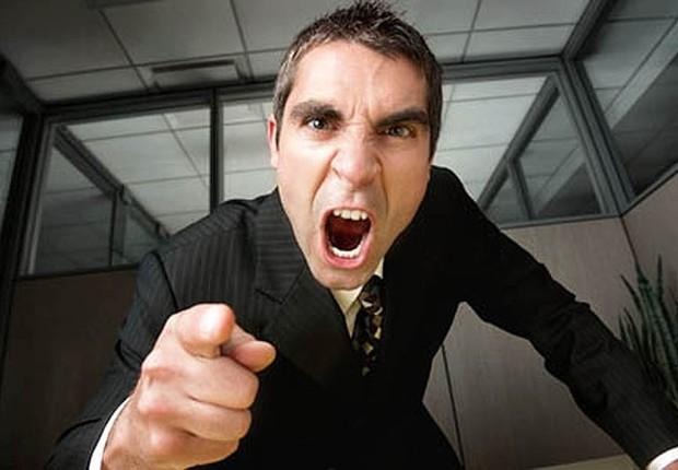 Carreira ; chefe agressivo ; problemas com o chefe ; clima ruim na empresa ;  (Foto: Dreamstime)