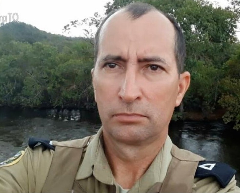 Policial militar morreu após acidente com viatura — Foto: Reprodução/TV Anhanguera