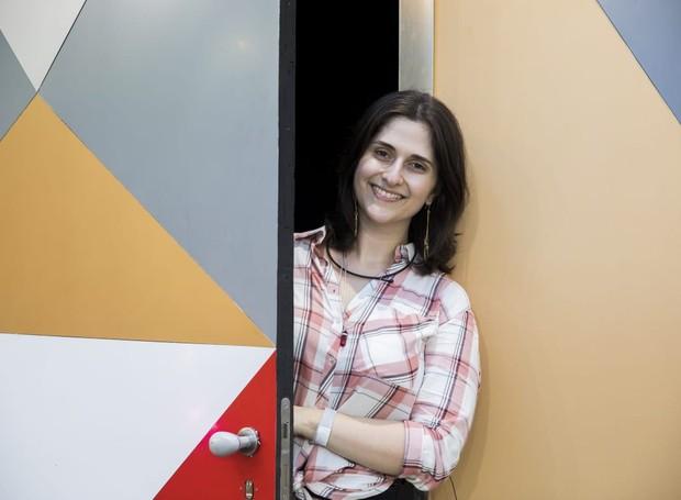 A repórter Cinthia Pascueto passou um dia confinada na casa do BBB 19 antes da estreia do programa e conta o que viu (Foto: TV Globo/Divulgação)
