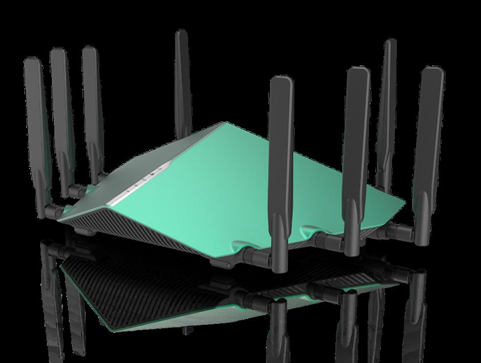 Com AX11, DIR-X6060 é um dos top de linha da D-Link para 2018 (Foto: Divulgação/D-Link)