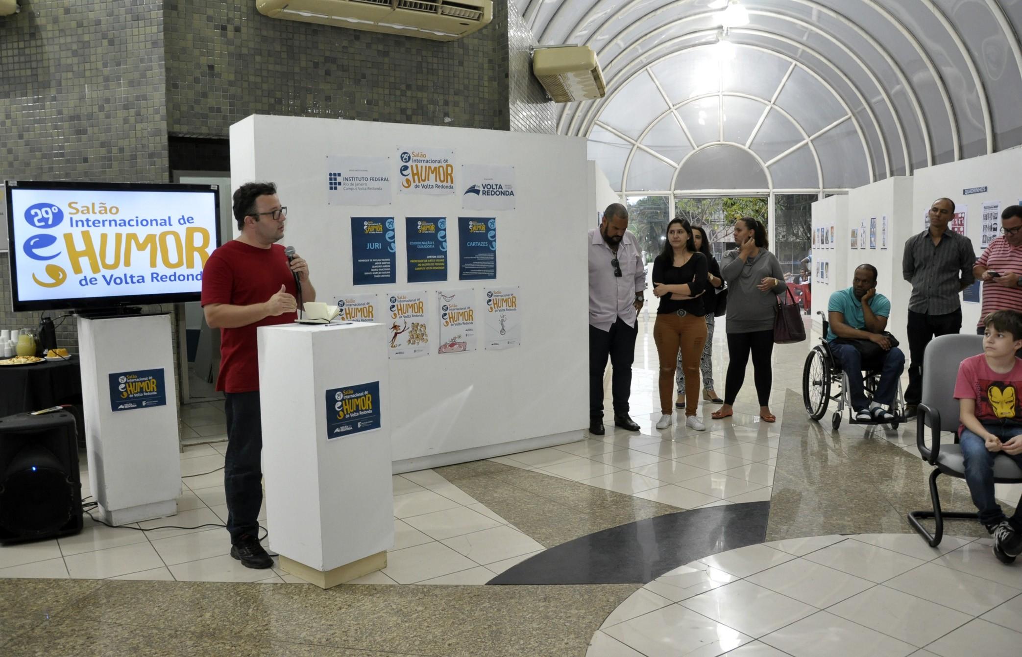 Estão abertas as inscrições para 30ª edição do Salão do Humor em Volta Redonda - Notícias - Plantão Diário