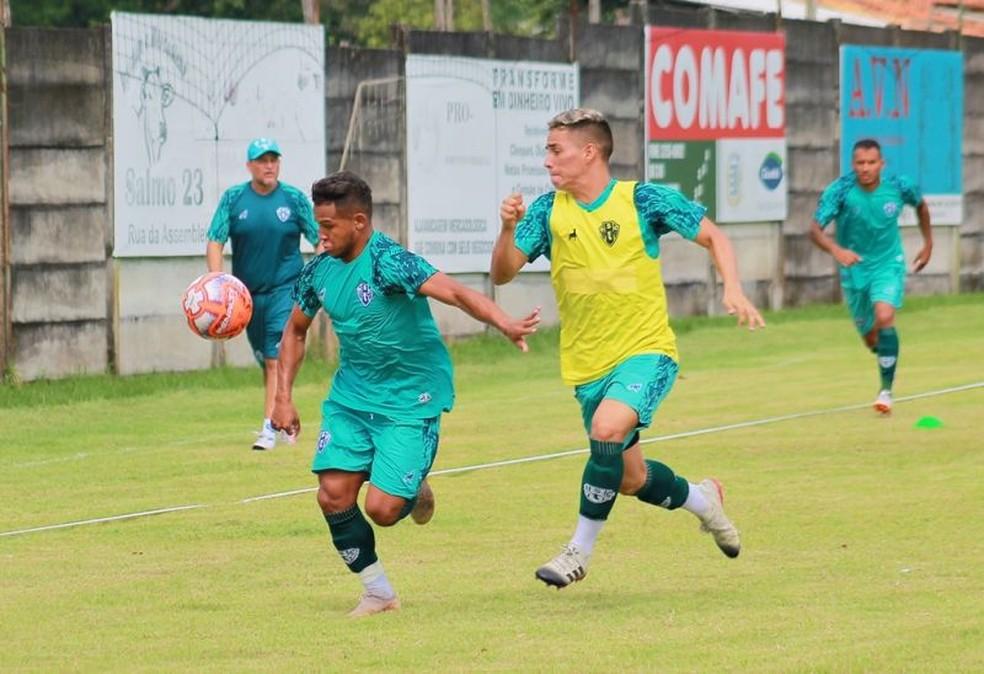 treino paysandu 1301 - Atacante bicolor espera ser titular para atuar diante dos familiares contra São Francisco